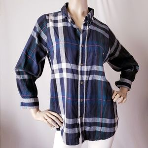Urban Renewal Plaid Button Down Shirt